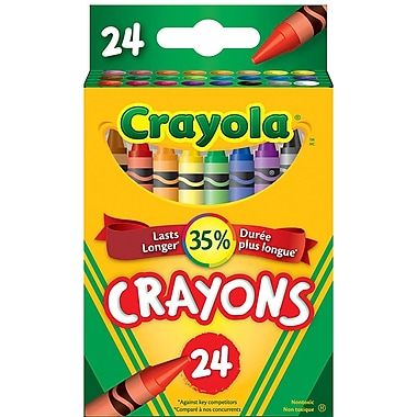 Crayola® 24-Pack Crayons, Assorted Colours