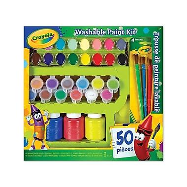 Crayola - Trousse de peinture lavable