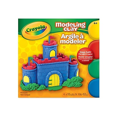 Crayola® Modelling Clay, Assorted Colours, 453g