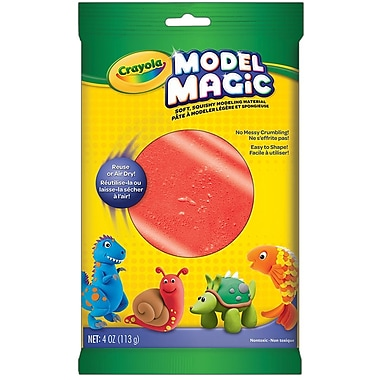 Crayola® - Pâte à modeler Model Magic, sachets de 113 g, rouge, paq./12