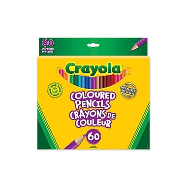 Crayola® Coloured Pencils, 60/Pack