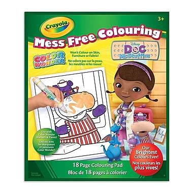 Crayola® - Cahier Color Wonder, Doc McStuffins, paq./12