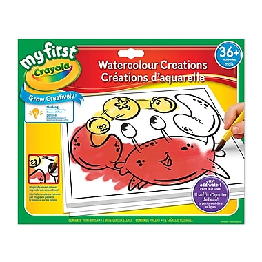 Crayola® My First Watercolour Creations, 4/Pack
