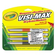 Crayola® Dry Erase Markers, Fine Line, 12/Pack