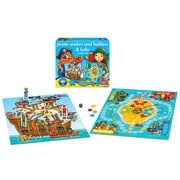 Orchard Toys – Pirate Snakes and Ladders and Ludo, multilingue