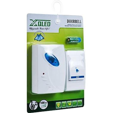 Trademark Home™ Set of 2 Remote Control Wireless Doorbell, White