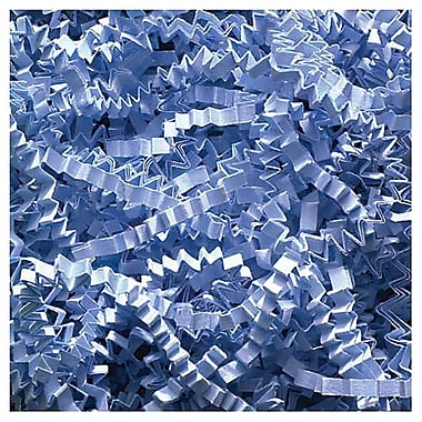 JAM Paper® Shred Tissue Paper Krinkeleen, 2 oz., Baby Blue, Sold Individually (1197036)