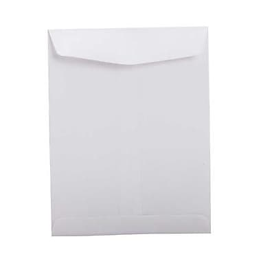 JAM Paper® 8.75 x 11.25 Open End Envelopes, White, 25/pack (4126)