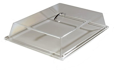 Carlisle SC4007, 16-11/16'' x 11-15/16'' x 3-1/4'' Pastry Tray Cover, Clear