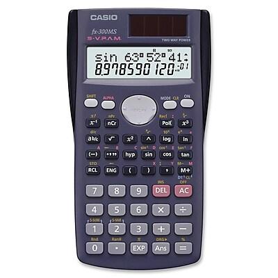 casio fx 300ms plus scientific calculator staples rh staples com Scientific Calculator Casio FX 100 casio fx-300es plus scientific calculator instructions