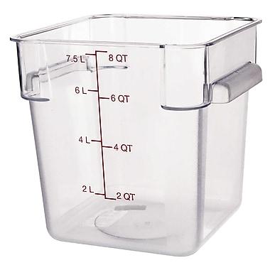 Carlisle 10723-07, 8 qt Polycarbonate StorPlus™ Food Storage Container