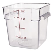Carlisle 10723-07, 8 qt Polycarbonate StorPlus™ Food Storage Container