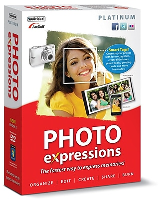 Photo Expressions Platinum 5 for Windows (1-User) [Download]