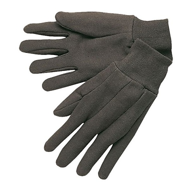 Memphis Gloves® Jersey Cotton, Clute Pattern Knit-Wrist Cuff, Large, 12 Pairs