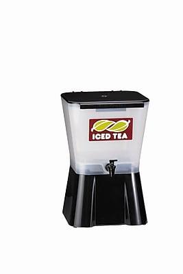 TableCraft 953 Plastic Beverage Dispenser, Black
