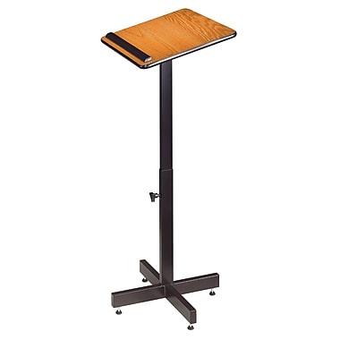 Oklahoma Sound Portable Portable Lectern, Medium Oak (70-MO)