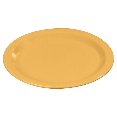 Carlisle 9'' Dinner Plate - Dallas Ware Collection, Honey Yellow