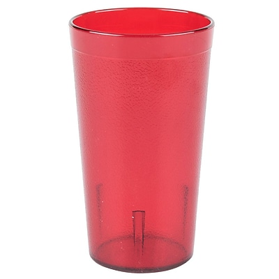 Carlisle 5212-10, 12 oz Stackable SAN Tumbler, Ruby