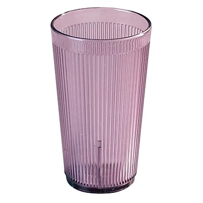 Carlisle 12 oz Crystalon Stack-All SAN Tumbler, Rose 450684