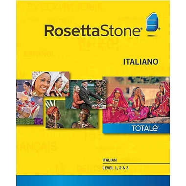 Rosetta Stone Italian Level 1-3 Set for Windows (1-2 Users) [Download]