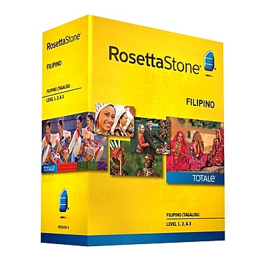 Rosetta Stone Filipino Tagalog Level 1 for Windows (1-2 Users) [Download]