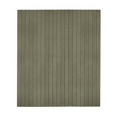 Anji Mountain Natural 48''x41'' Composite Chair Mat for Hard Floor, Rectangular, Gray (AMB25020)