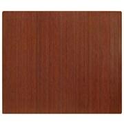 Anji Mountain Roll-Up 48''x60'' Bamboo Chair Mat for Hard Floor, Rectangular, Dark Cherry (AMB24043)