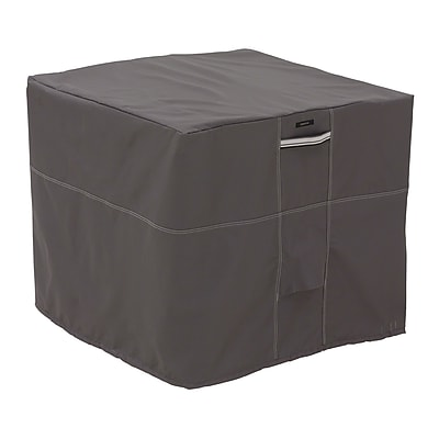 Classic Accessories Ravenna Patio Square Air Conditioner Cover, Dark Taupe 458867