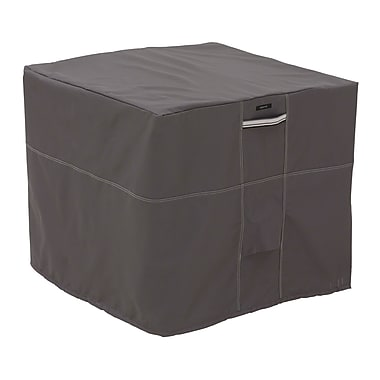Classic Accessories® Ravenna® Patio Square Air Conditioner Cover, Dark Taupe
