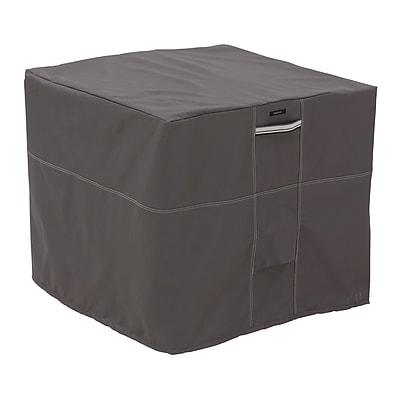 Classic Accessories® Ravenna® Patio Square Air Conditioner Cover, Dark Taupe