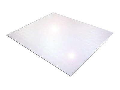 Floortex Polycarbonate 118''x48'' Chair Mat for Hard Floor, Rectangular (1230019ER)