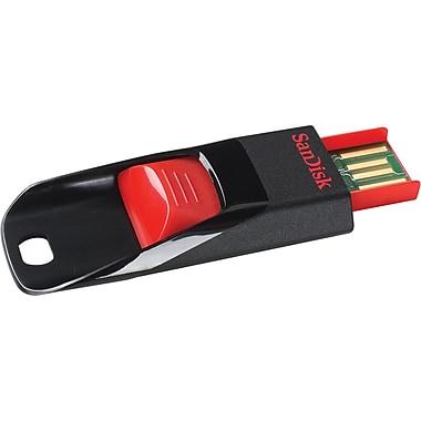 SanDisk Cruzer Edge SDCZ51-032G-A46 32GB USB 2.0 Flash Drive, Black/Red