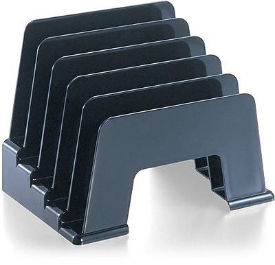 Officemate® Black Plastic Incline Sorter