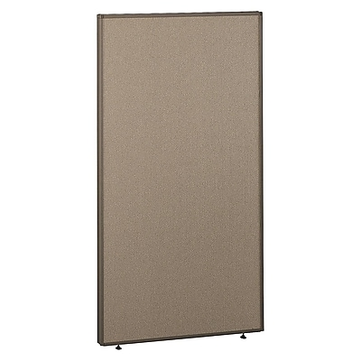 Bush Business Furniture ProPanels 66H x 36W Panel, Harvest Tan/Taupe (PP66536-03)