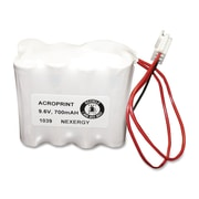 Acroprint ® Backup Battery For Model ES900 And ES1000