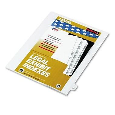 Kleer-Fax® Numeric Tab Title 24