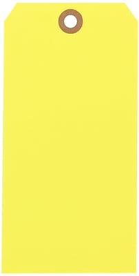 Yellow Shipping Tags, #8, 6-1/4