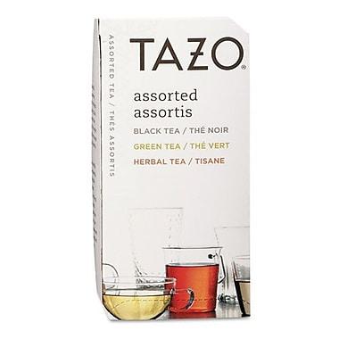 Starbucks® Tazo Flavored Teas, Assorted, 24 Tea Bags/Box