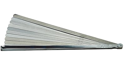Armstrong® Tools Long Blade Feeler Gauge Set, 12-inch Length x 1/2-inch Width