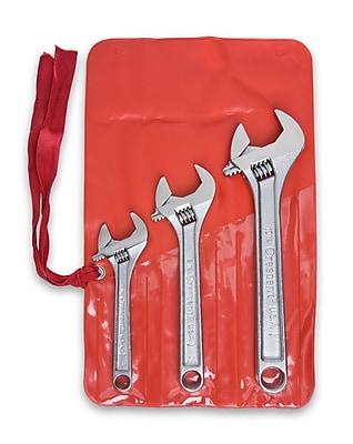 Cooper Hand Tools Crescent® 3 Pieces Adjustable Wrench Set