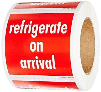 Refrigerate on Arrival 4x4