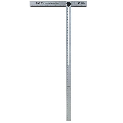 Empire® Level Empire® Professional Drywall T-Square, 47 7/8 in (L) x 3/16 in (T) Blade
