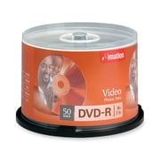 Imation 50/Pack 16X 4.7GB DVD-R, Spindle