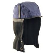 Hot Rods® Premium Shoulder Length Two Way Longneck Combo Winter Liner, 100% Cotton Top, Navy/Black