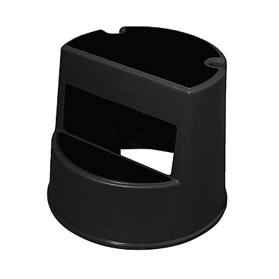 Rubbermaid Commercial Step Stool, Black, 13