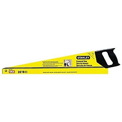Stanley® SharpTooth™ Crosscut General Purpose 8 Point Saws, 26-inch