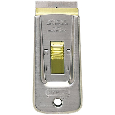Stanley® Retractable Razor Blade Scraper, 3 3/4