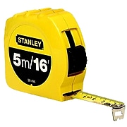 Stanley® Tape Rules, 16ft Blade, 5m
