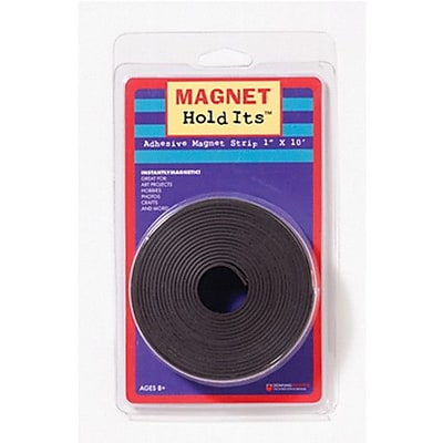 Dowling Magnets Magnet Strip Roll with Adhesive, 1