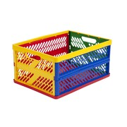 Early Childhood Resources ELR0170 Collapsible Crate with Vented Sides